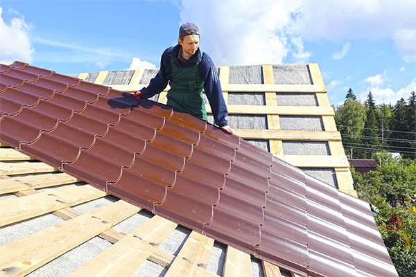environmentally friendly roofing material