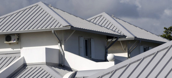 Metal roofing protecting a Sydney home